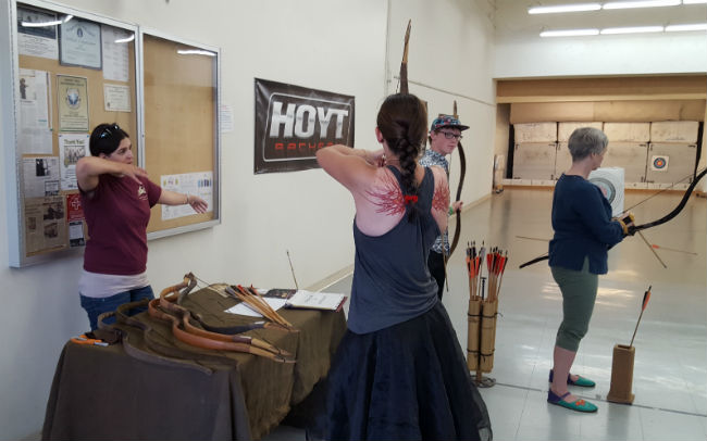 Saturday Horsebow Demo with Seven Meadows Archery